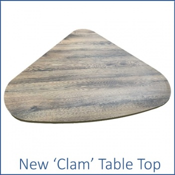 New Product - Clam Table Top